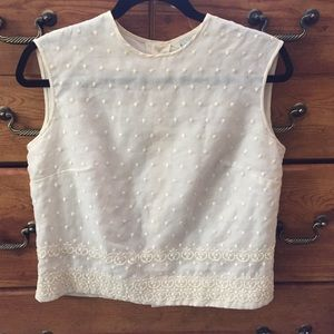 Silky Lace Top